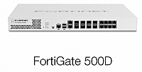 Fortinet FortiGate-500D 8x5 Enhanced Bundle, 1 Year