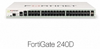 Fortinet FortiGate-240D 8x5 Enhanced Bundle, 1 Year